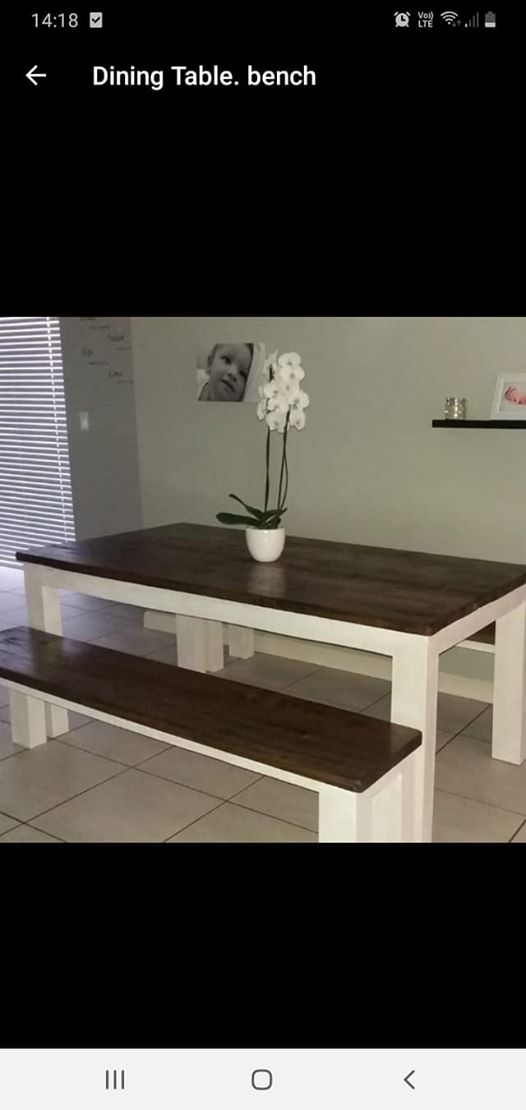 Dining Table With Benches Vuyani Furniture Transport Sales