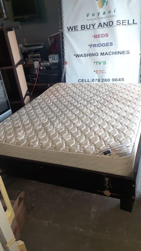 Picture of: Serta Queen Bed Vuyani Furniture Transport Sales